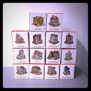 14 Americana Collection Liberty Building Sets